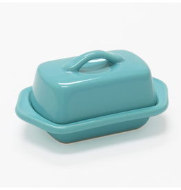 Chantal Mini Butter Dish, Aqua