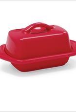 Chantal Mini Butter Dish, Red