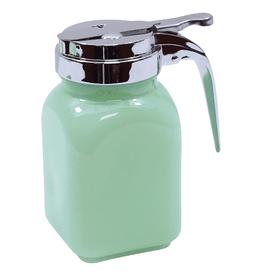 Tablecraft Jadeite Glass Syrup Dispenser