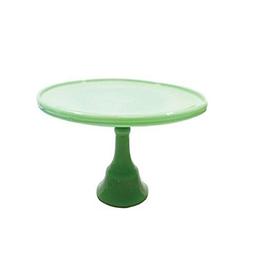 Tablecraft Jadeite Glass Cake Stand