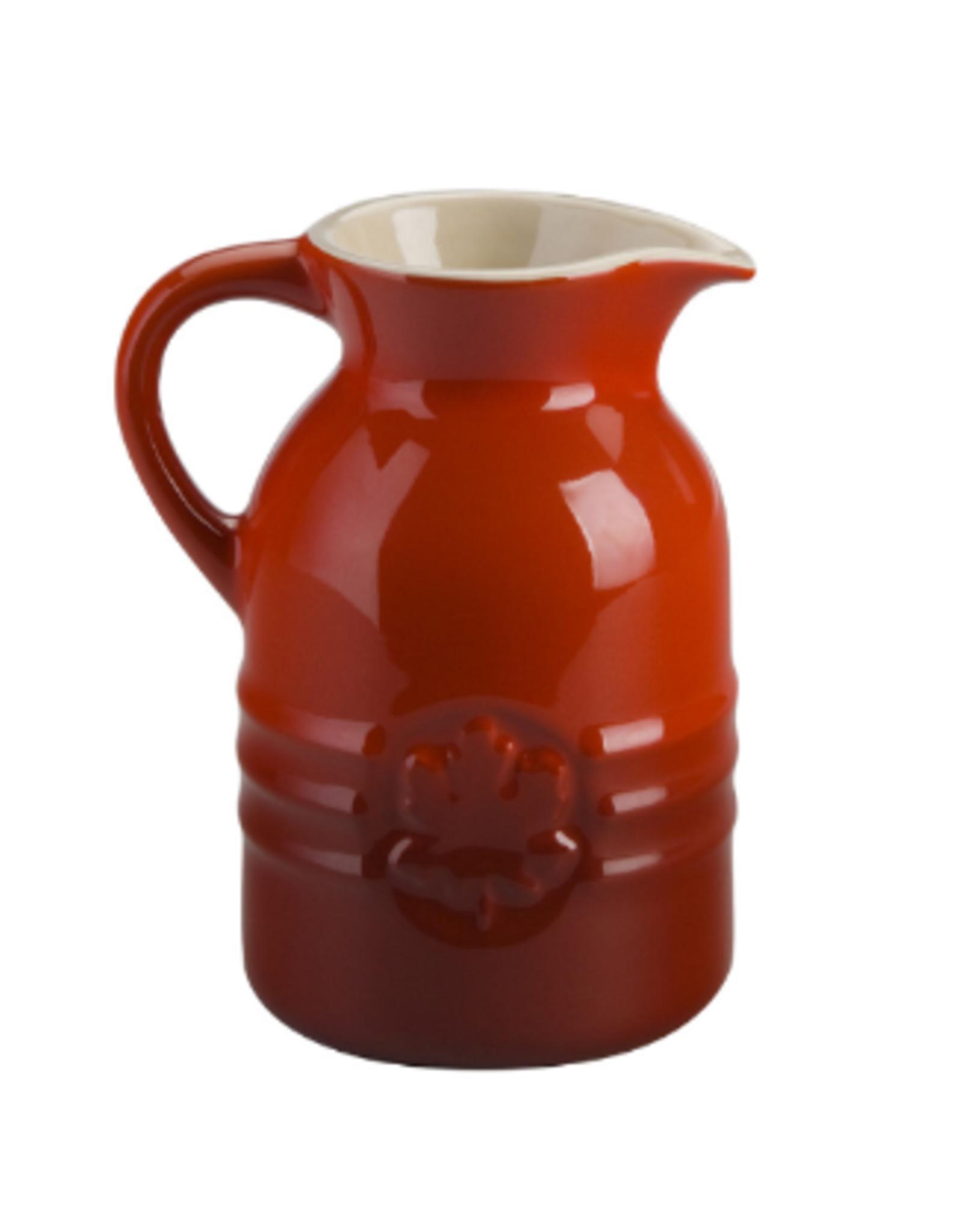 Le Creuset Le Creuset Syrup Jar, 8oz, Cerise