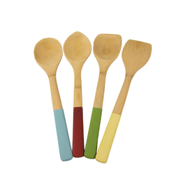 Architec Bamboo Utensils Set 4, colors