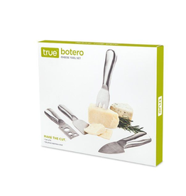 True Fabrications Botero Cheese Knife Set