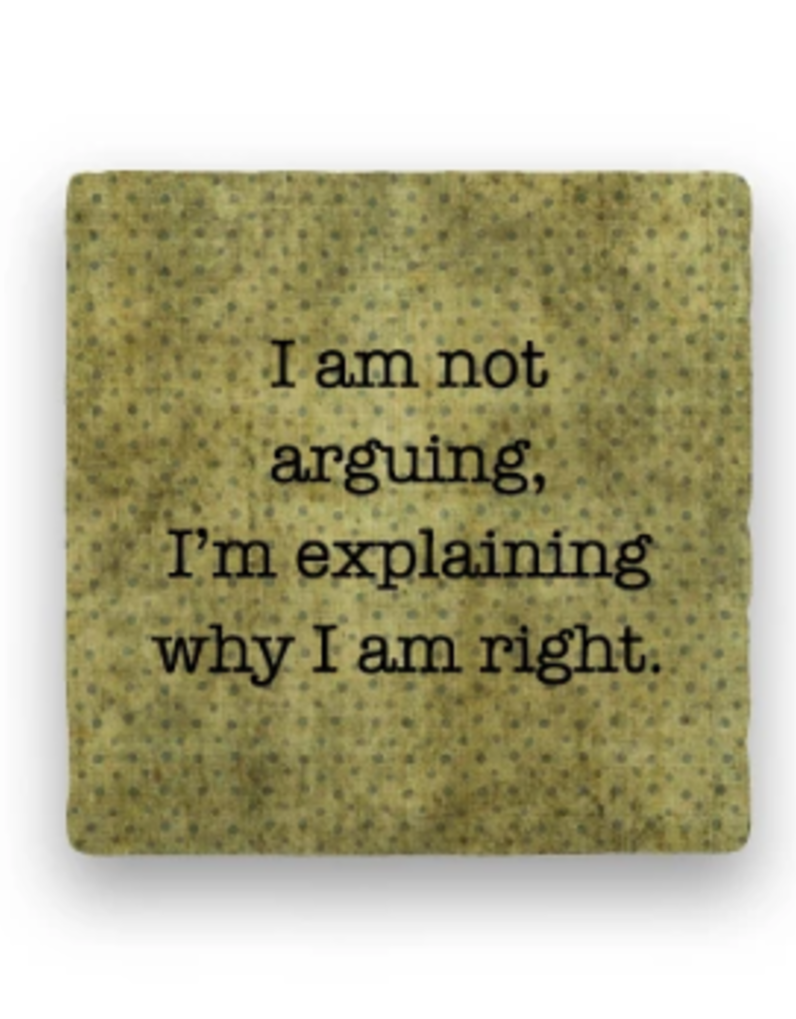 Paisley & Parsley Designs Coaster, Arguing
