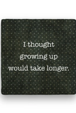 Paisley & Parsley Designs Coaster, Growing Up