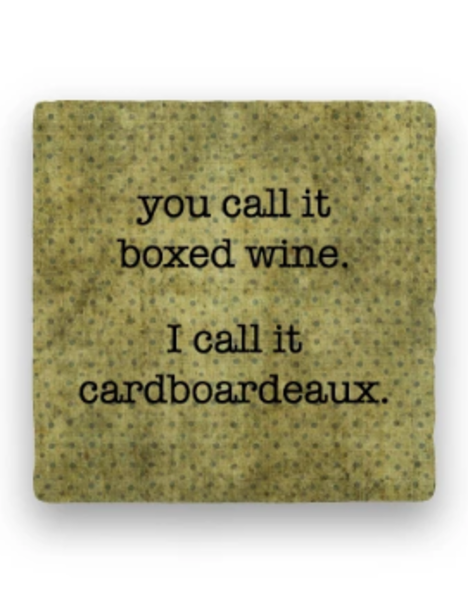 Paisley & Parsley Designs Coaster, Cardboardeaux