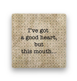 Paisley & Parsley Designs Coaster, This Mouth