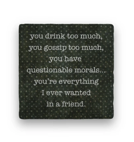 Paisley & Parsley Designs Coaster, Friend