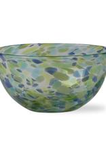Tag S20 Bowl, Blue/Green Confetti