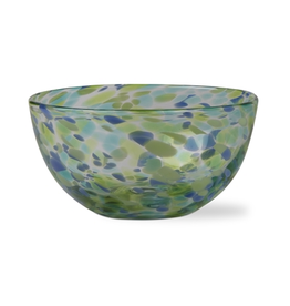 Tag S20 Bowl, Blue/Green Confetti