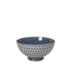 "Now Designs S20 Bowl 6"", Honeycomb Blue"
