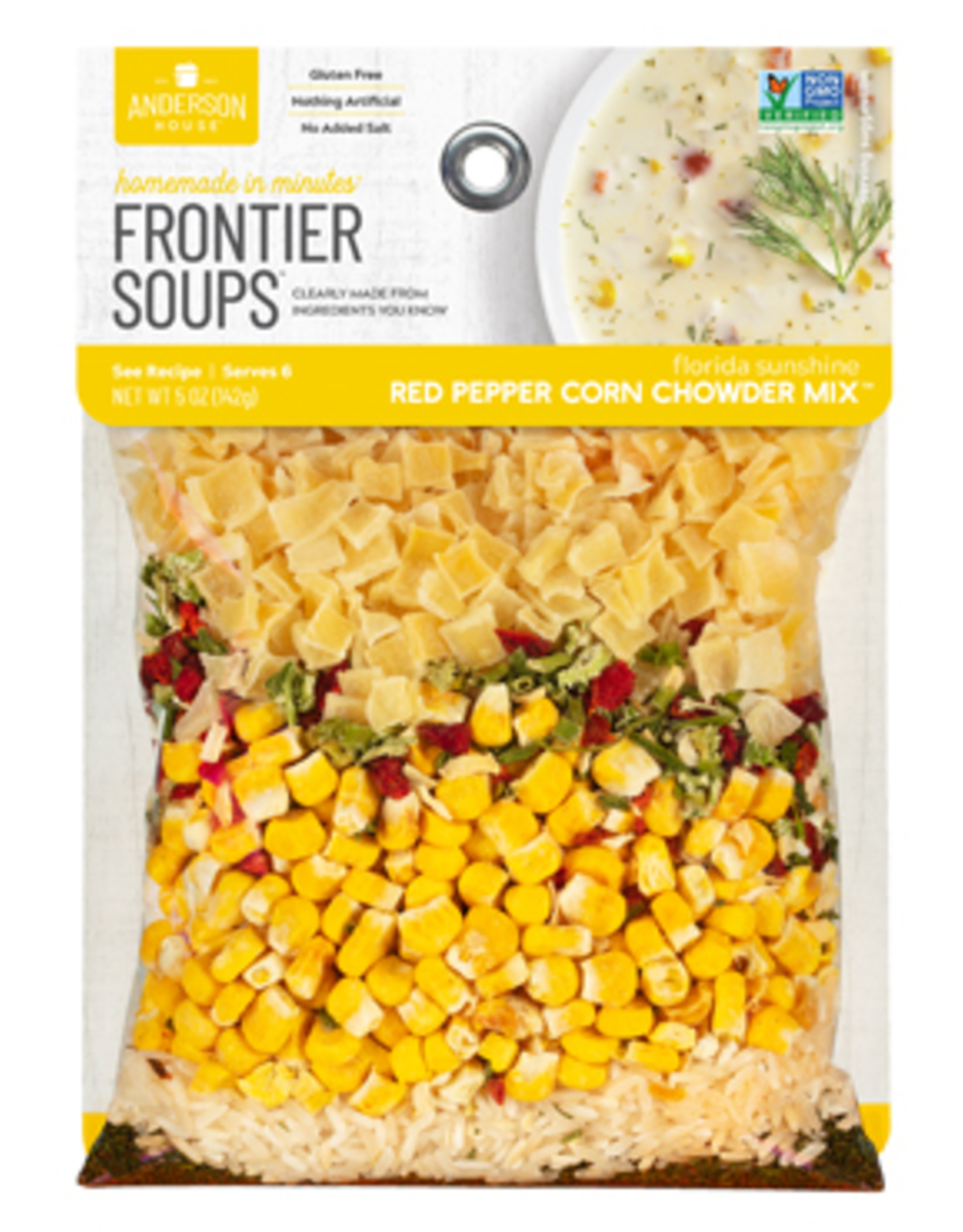 Frontier Soups Florida Sunshine Red Pepper Corn Chowder Mix