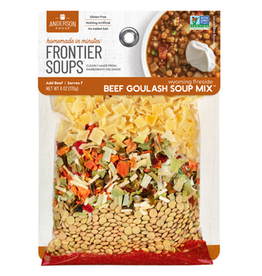 Frontier Soups Wyoming Fireside Beef Goulash Mix