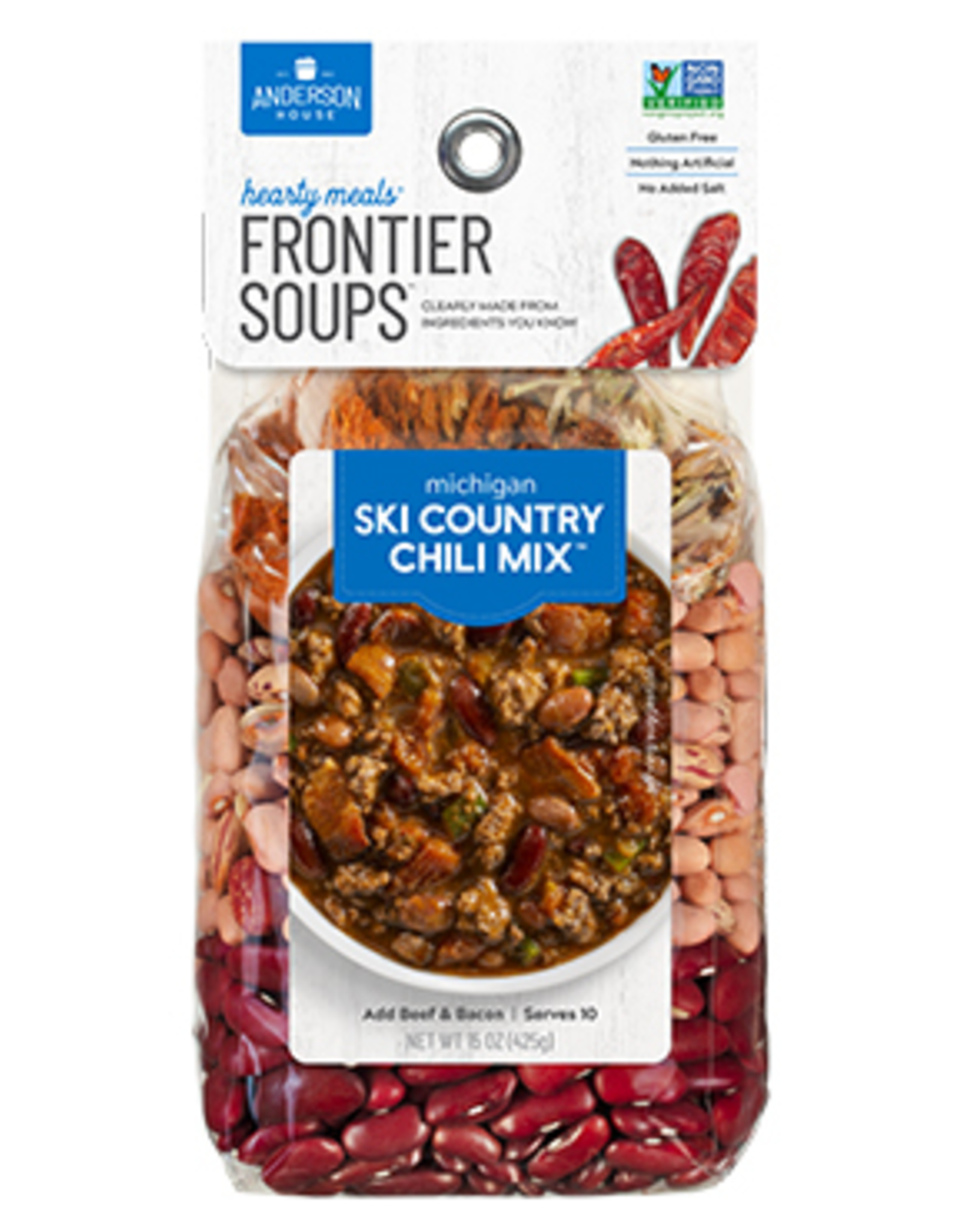 Frontier Soups Michigan Ski Country Chili Soup Mix