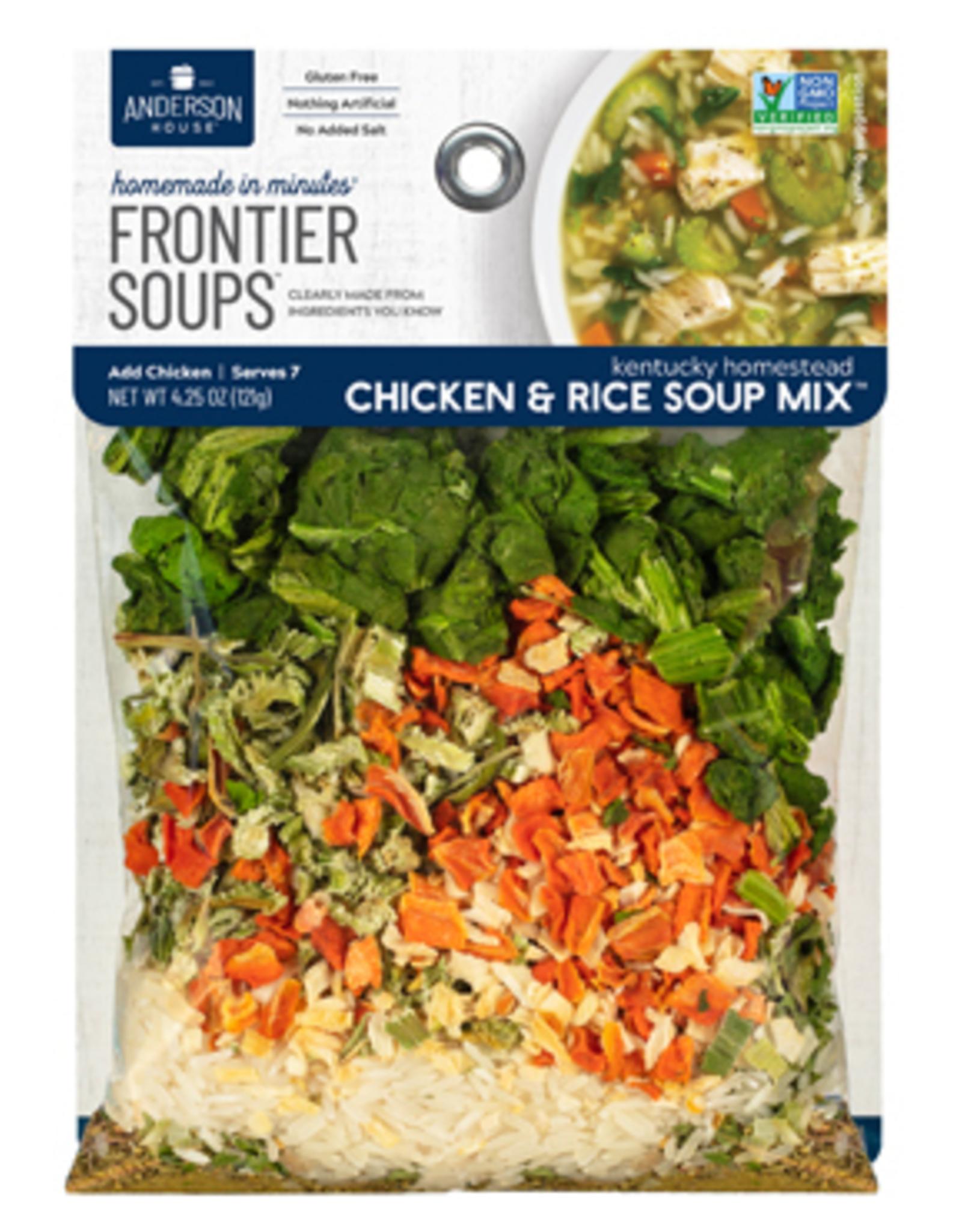 Frontier Soups Kentucky Homestead Chicken & Rice Soup Mix
