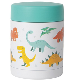 Now Designs Food Jar 12oz, Dandy Dinos
