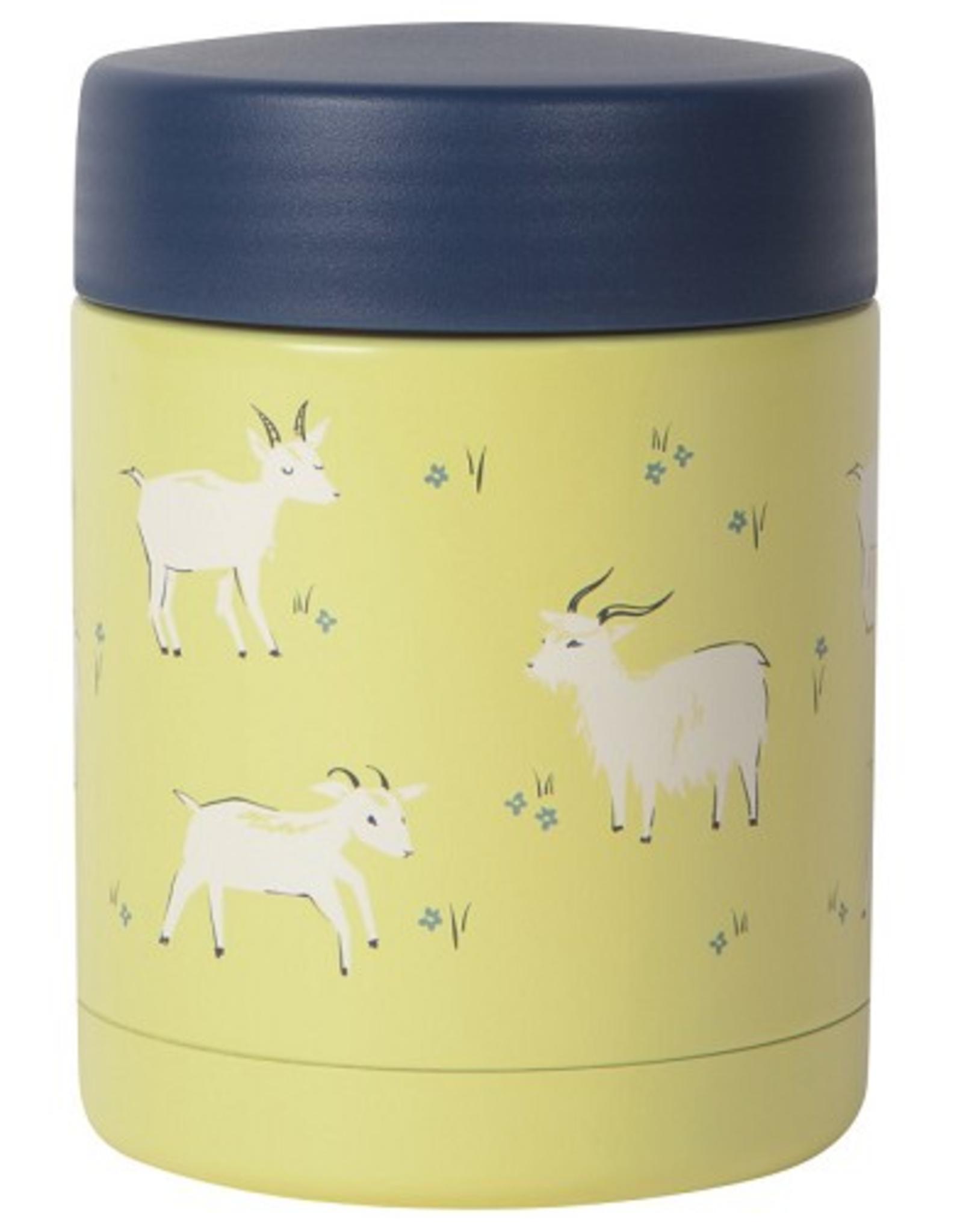 Now Designs S20 Food Jar 12oz, Goats