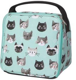 Now Designs Lunch Bag, Cats Meow