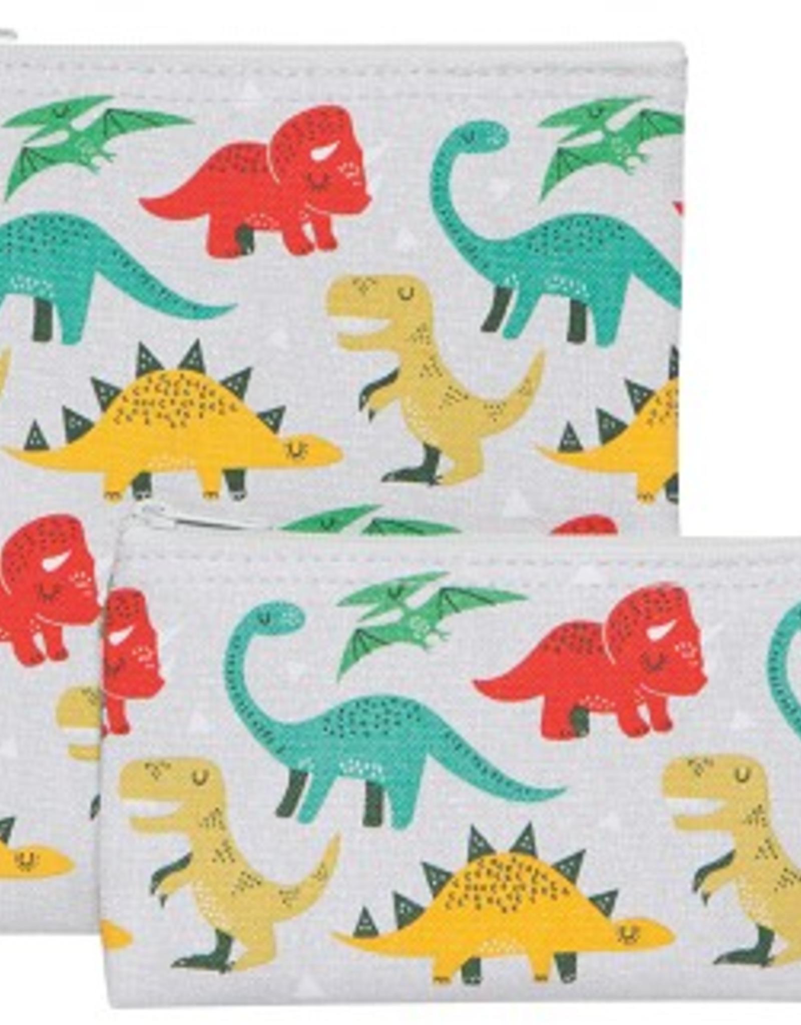 Now Designs Snack Bag Set/2, Dandy Dinos