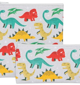 Now Designs Snack Bag Set/2, Dandy Dinos