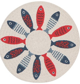 Now Designs Trivet, Braided, Little Fish c/o