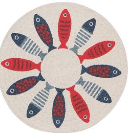 Now Designs Trivet, Braided, Little Fish