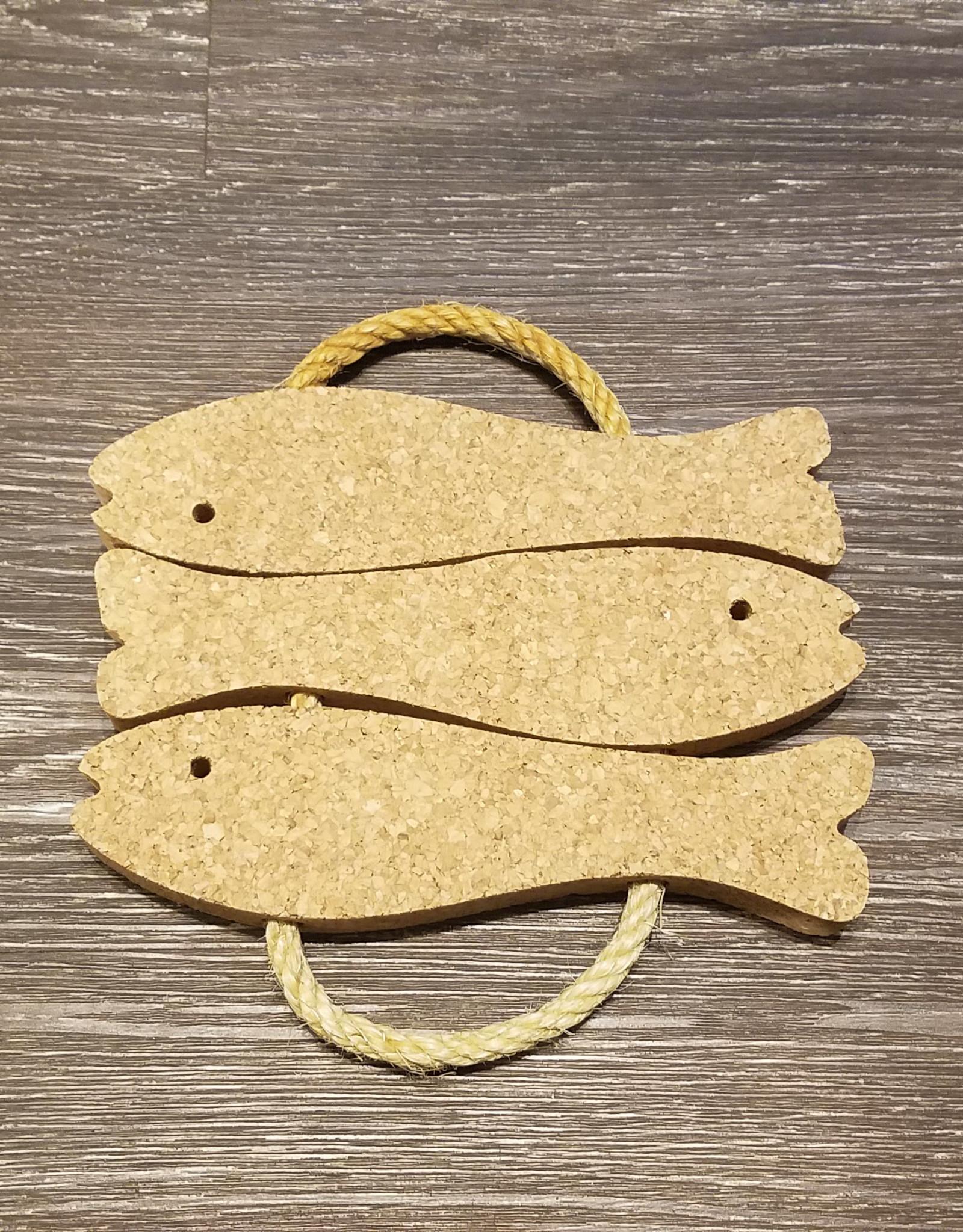 Cose Nuove Cork Fish Trivet
