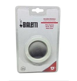 Bialetti Moka Pot Gasket/Filter 6c