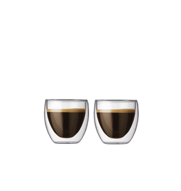 Bodum Pavina Glasses Extra Small 2.5 oz Set2