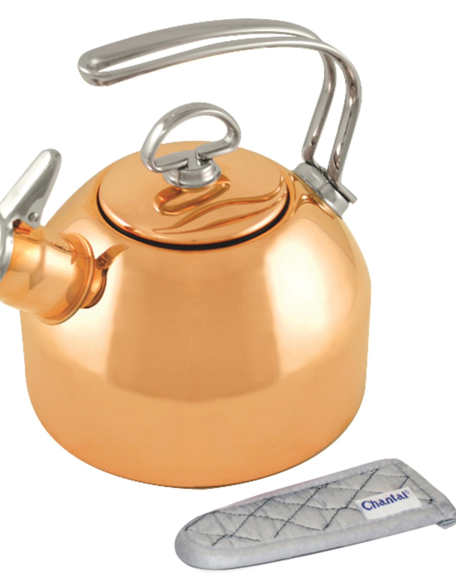 Chantal Classic Copper Whistling Teakettle