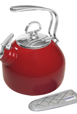 Chantal Classic  Whistling Teakettle, red