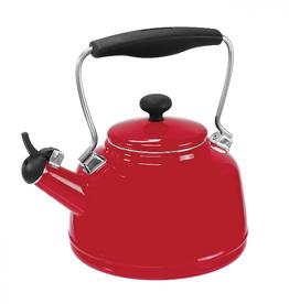 Chantal Vintage Teakettle, Chili Red