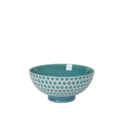 """Now Designs S20 Bowl 6"""", Honeycomb Teal"""