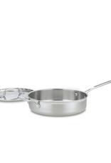 Cuisinart 3.5 Qt Saute Pan, Multi-Clad Pro