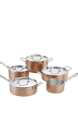 Cuisinart Hammered Collection Copper Tri-Ply, 9pc Set