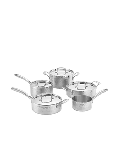 Cuisinart Hammered Collection Tri-Ply, 9pc Set