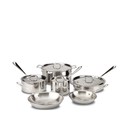 All-Clad AC Stainless 10 Piece Set