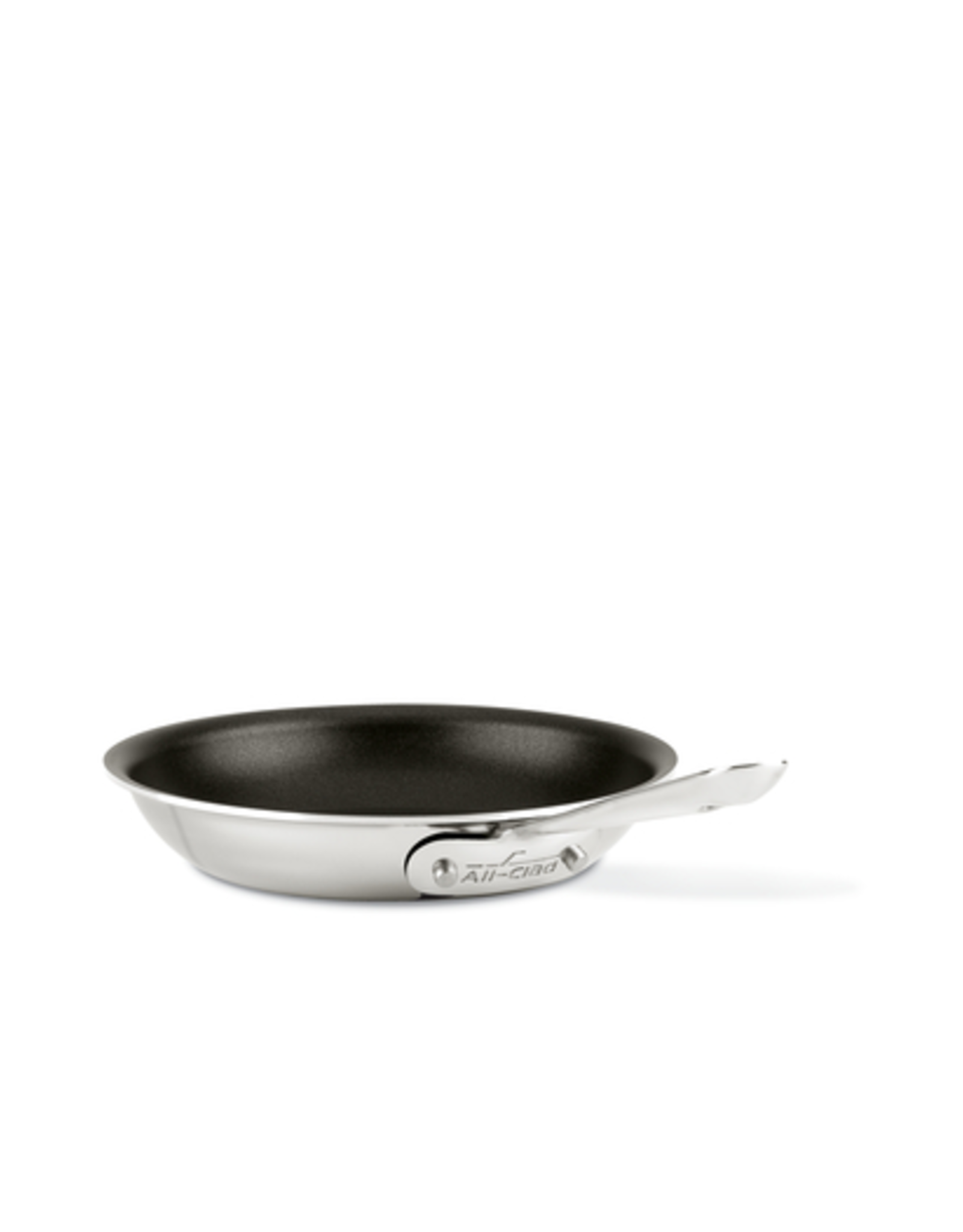 """All-Clad AC D3 Stainless 8"""" Fry Pan, NS"""