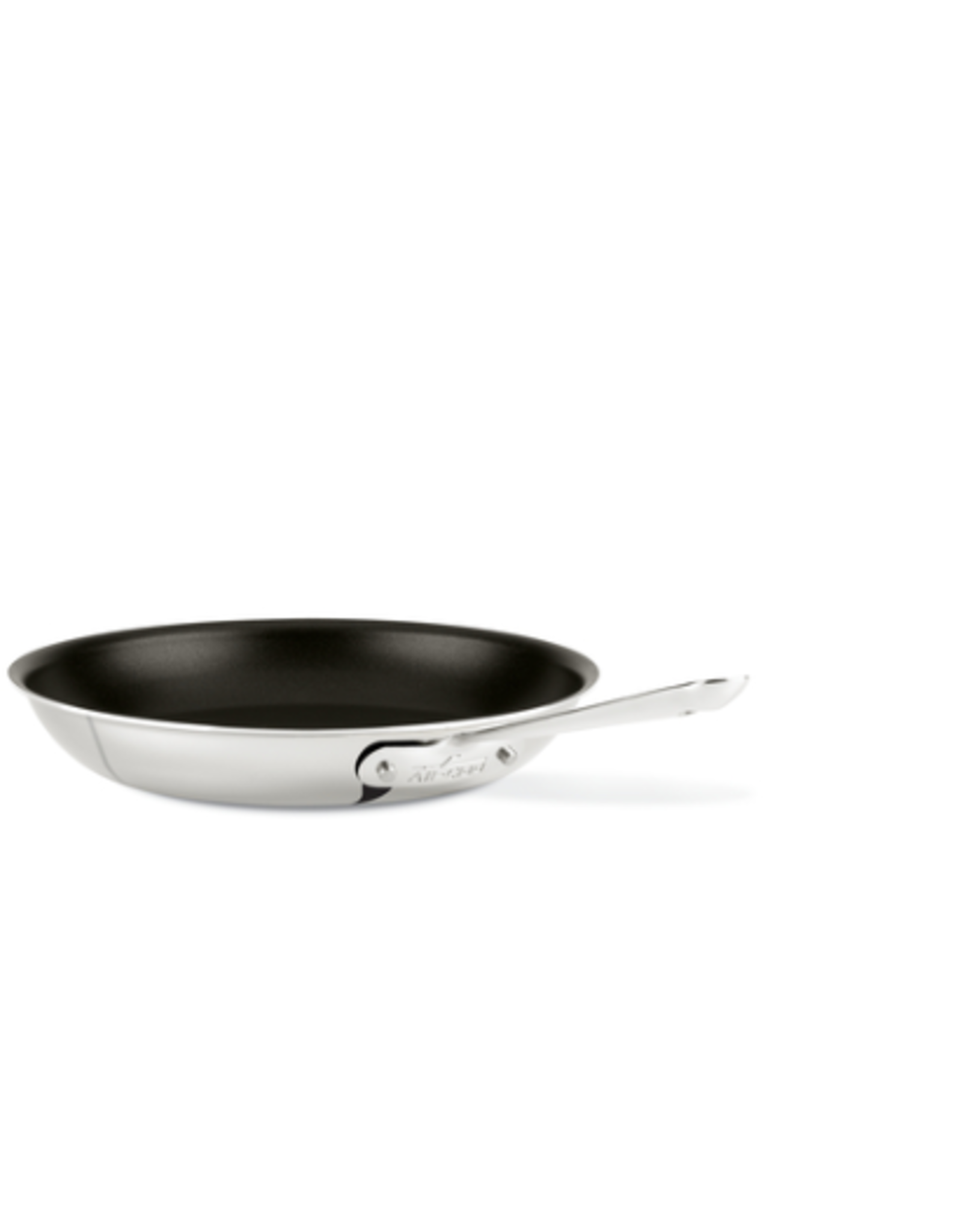 "All-Clad AC D3 Stainless 12"" Fry Pan, Non-Stick"