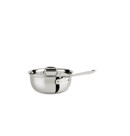 All-Clad New Stainless 3 Qt. Saucier w/ Lid