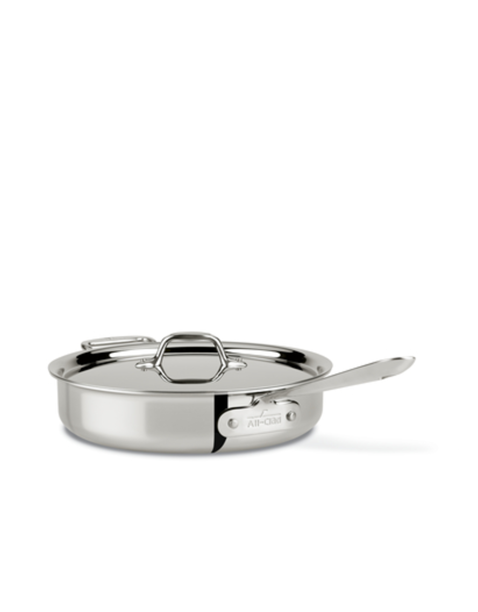 All-Clad AC D3 Stainless 3 Qt. Saute Pan w/ Lid