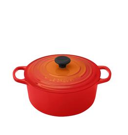 Le Creuset Signature Round Dutch Oven, 5.5 Qt, Flame