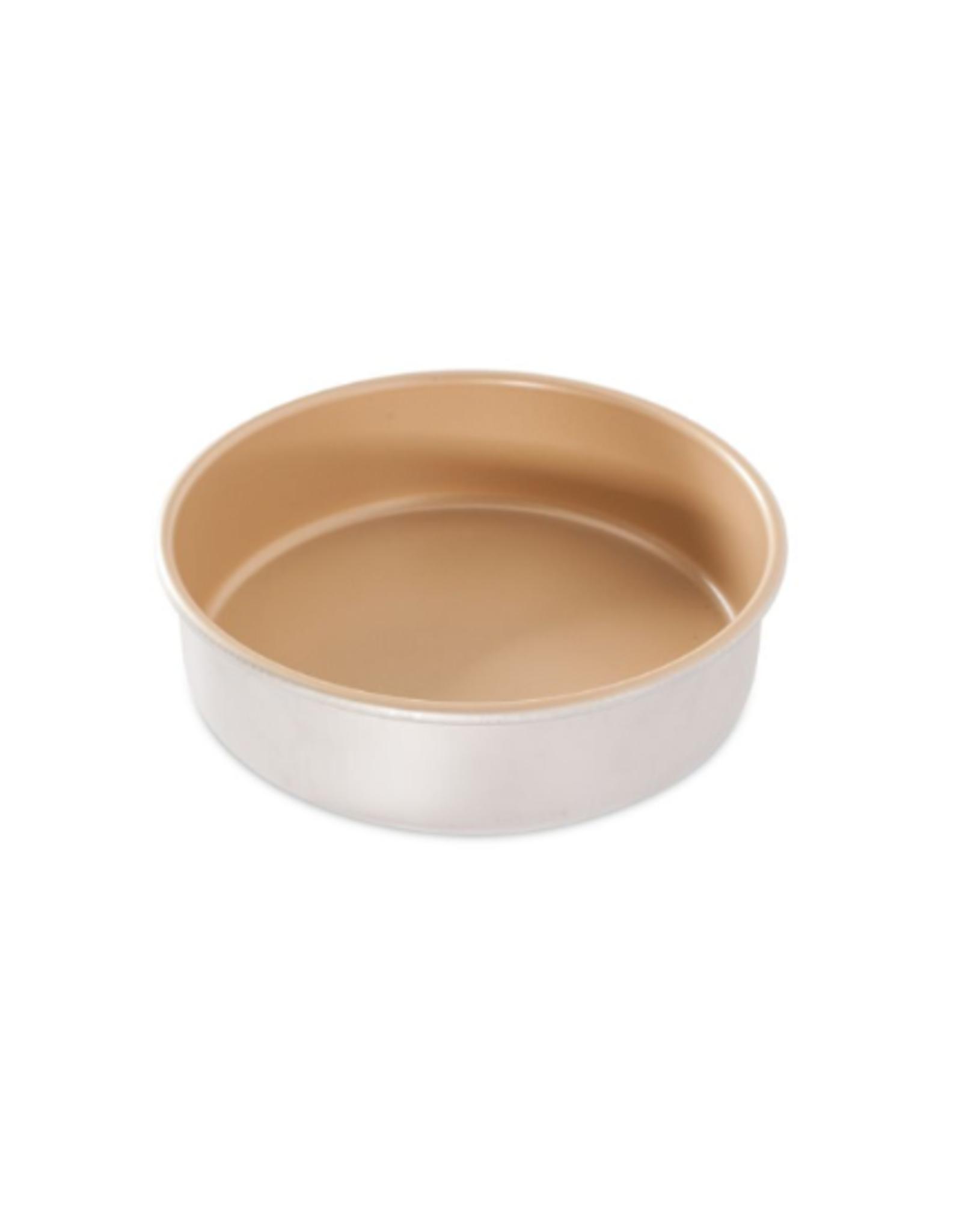 "Nordicware 9"" Layer Cake Pan, Gold"