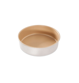 "Nordicware 9"" Layer Cake Pan, Gold"