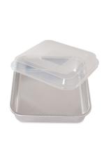 Nordicware Square Cake Pan w/ Lid, 9x9x2.5