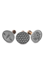 Nordicware Cookie Stamp Set of 3, Honeybee