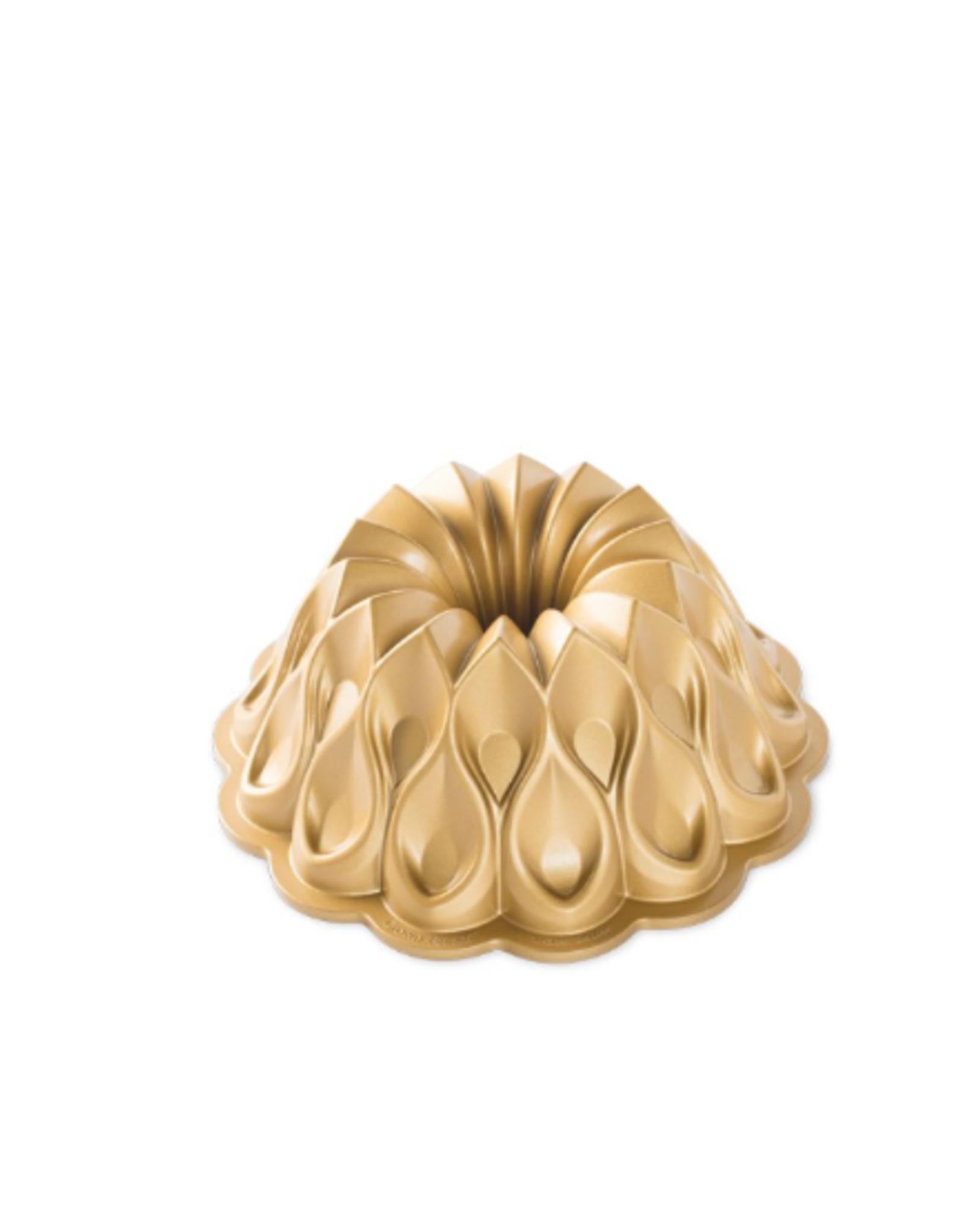 Nordicware Crown Bundt Pan, Gold Collection