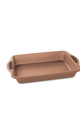 "Nordicware 9""x13"" Rectangular Cake Pan, Copper NS"