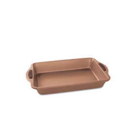 "Nordicware 9""x13"" Rectangular Cake Pan, Copper NS"