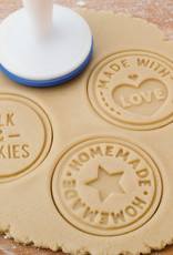 Tovolo Cookie Stamps, Home/Love/Milk